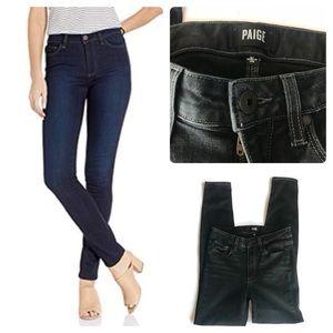 Paige Hoxton Ultra Skinny Dark Blue Jeans Size 27